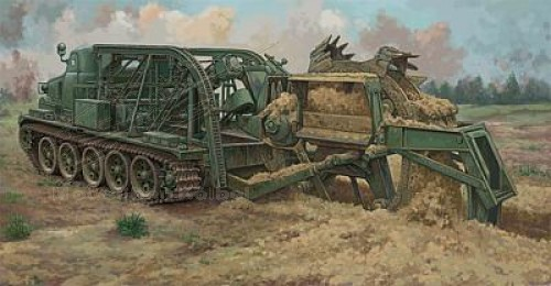 BTM-3 High- Speed Trench Digging Vehicle