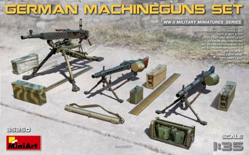German Machineguns Set